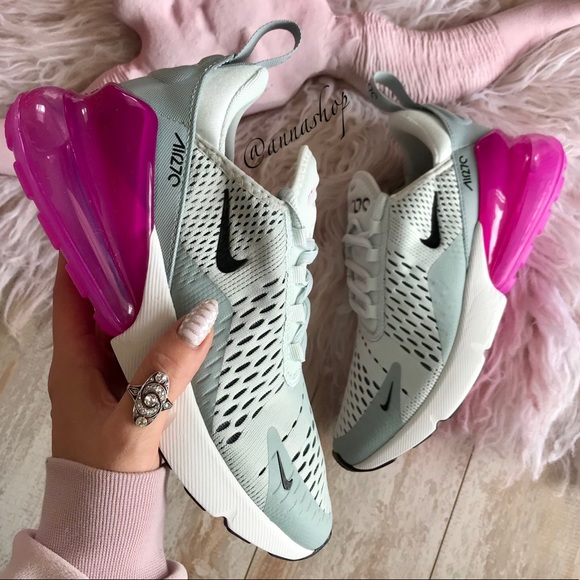 Nike Shoes Nwt Air Max 270 Grey Pink Poshmark